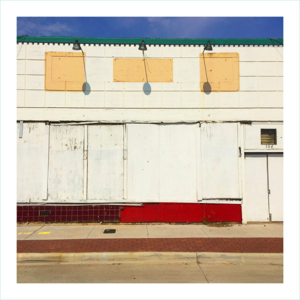 William Greiner, Boarded Facade South Side, Fort Worth TX, 2018
