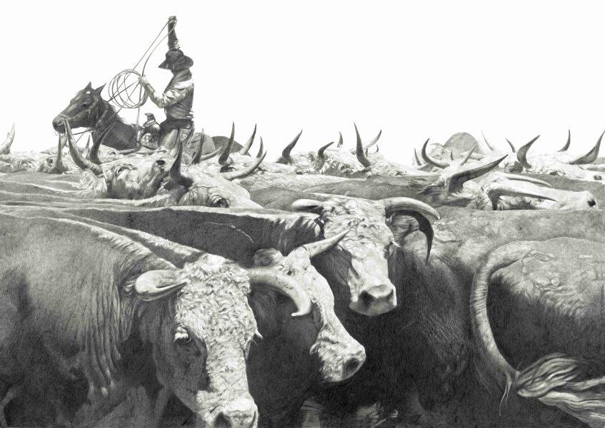 Woodrow Blagg, High-Horns, 2019