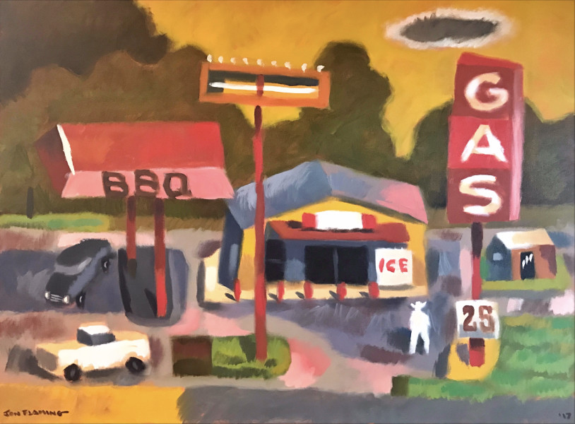 Jon Flaming, East Texas Gas & BBQ, 2017