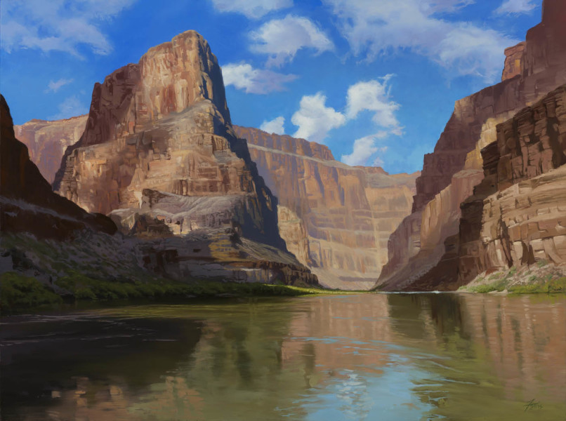 Dennis Farris, Canyon Shadows