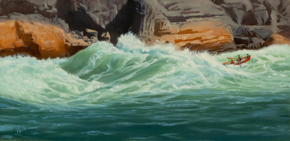 Dennis Farris, Lava Falls Study