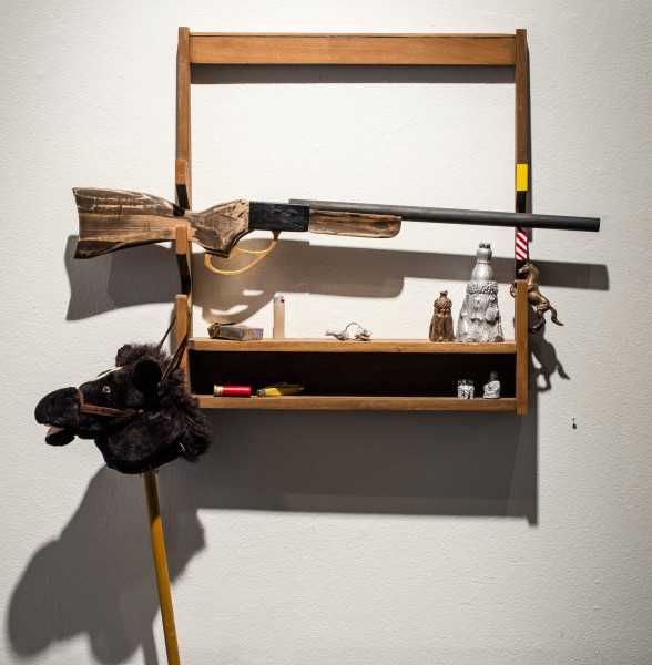 <span class=&#34;artist&#34;><strong>Zach Morriss</strong></span>, <span class=&#34;title&#34;><em>Gun Rack</em>, 2018</span>