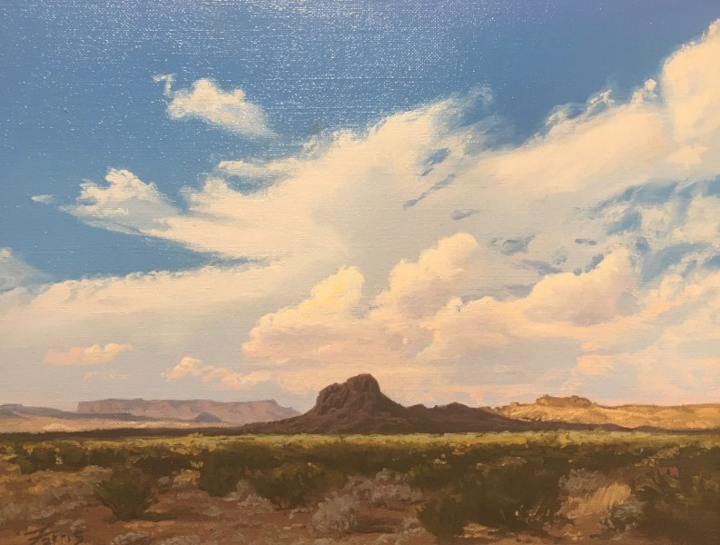 Dennis Farris, Little Sombrero Peak (Big Bend Ranch State Park)