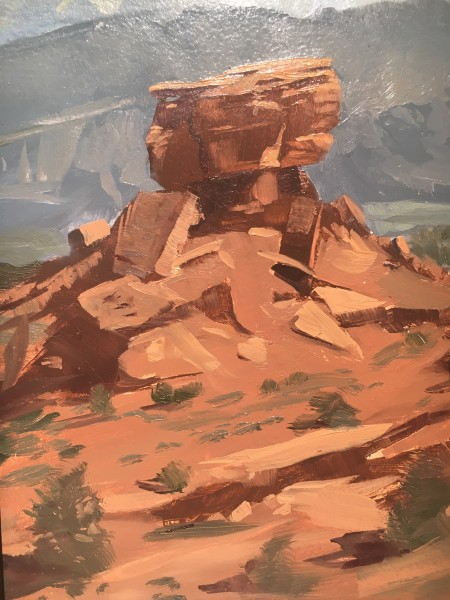 Dennis Farris, Capitol Reef National Park (Plein Air Utah)