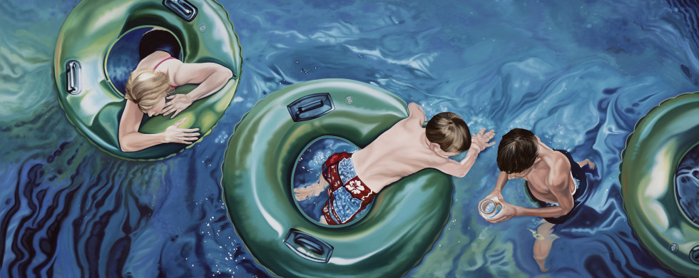 <span class=&#34;artist&#34;><strong>Nancy Lamb</strong></span>, <span class=&#34;title&#34;><em>Up the Lazy River</em></span>