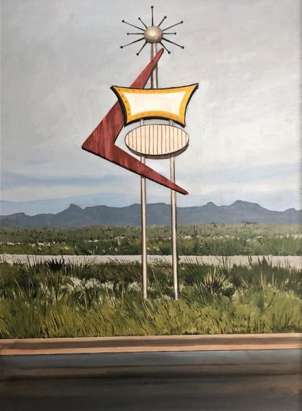 <span class=&#34;artist&#34;><strong>Daniel Blagg</strong></span>, <span class=&#34;title&#34;><em>The Wayward Arrow</em>, 2018</span>
