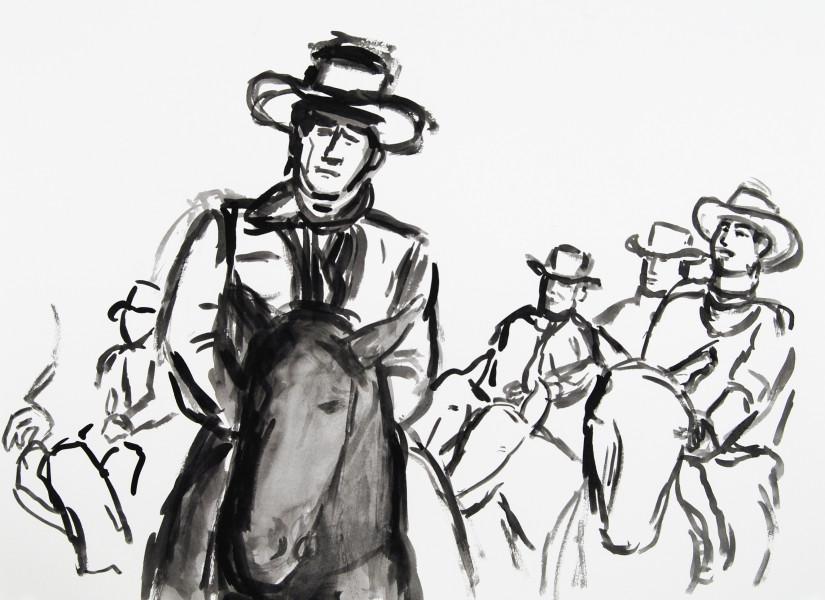 <span class=&#34;artist&#34;><strong>Linda Blackburn</strong></span>, <span class=&#34;title&#34;><em>Dunson</em>, 2014</span>
