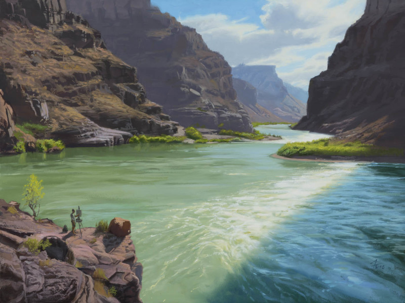 Dennis Farris, Painter's Paradise