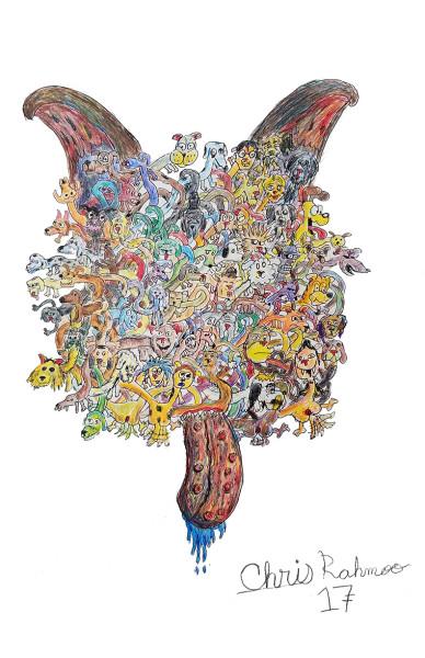 <span class=&#34;artist&#34;><strong>Christopher Rahmeh</strong></span>, <span class=&#34;title&#34;><em>DogBall</em>, 2017</span>