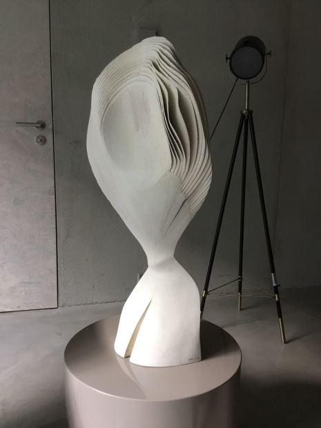 Lars Zech, Moving Portrait, White