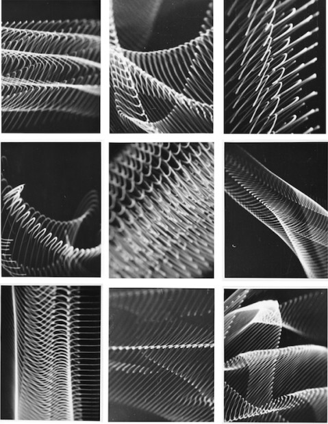 Herbert W. Franke, 9 analogue graphics, 1956/57