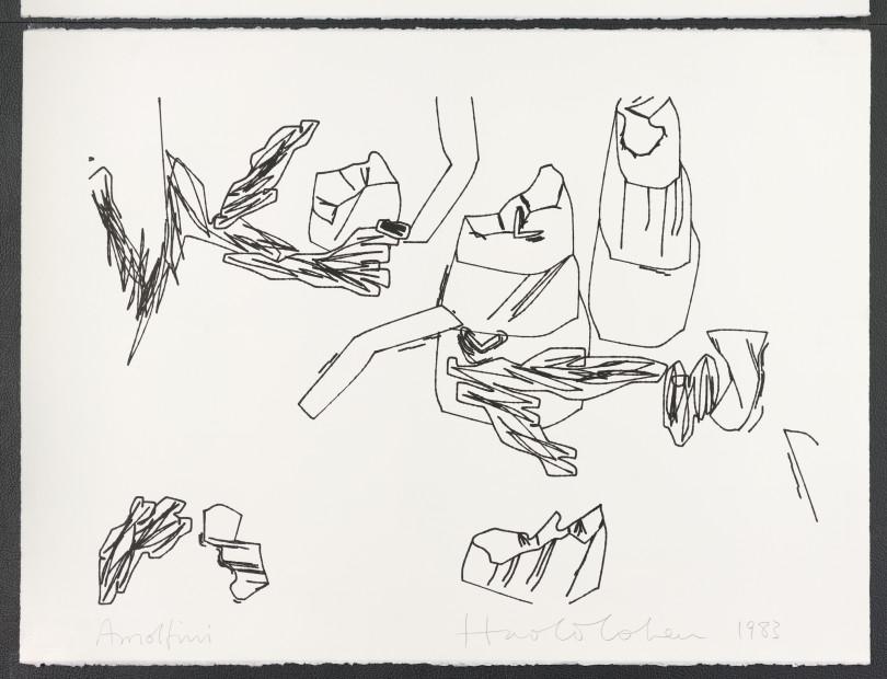 Harold Cohen, Arnolfini Series, 1983