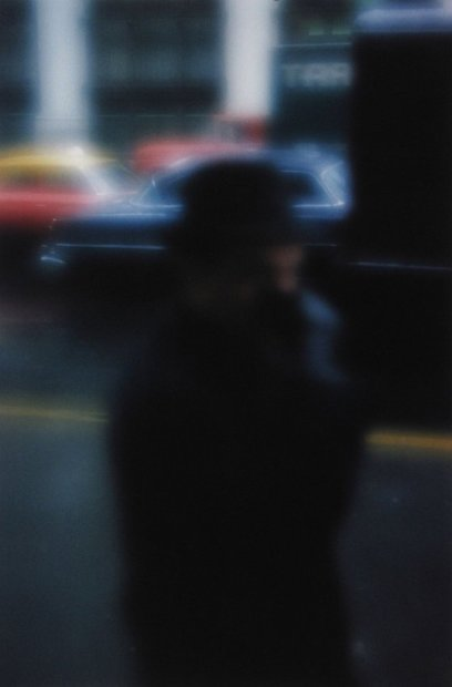 Saul Leiter Street Scene chromogenic print 14 x 11 inches35.6 x 27.9 cms