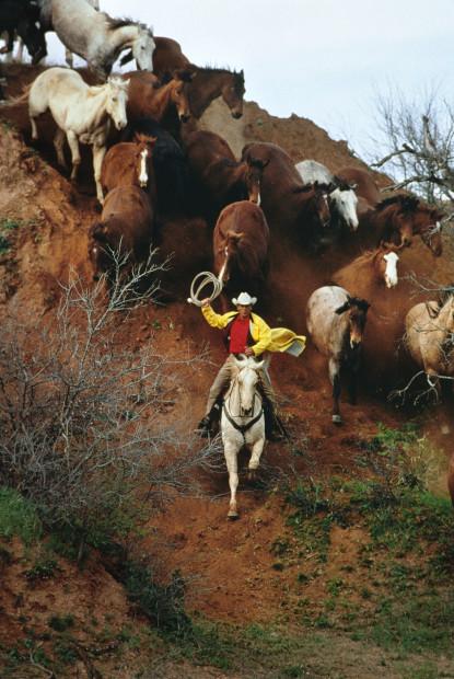 Norm Clasen, Red Hill Run, Seymour, TX, 1987
