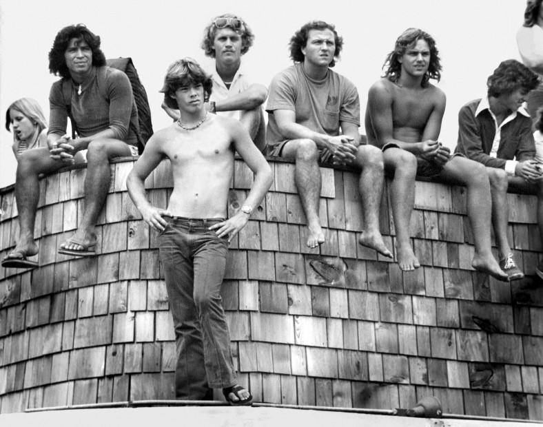 Hugh Holland, Beach Crowd, Balboa Beach, CA, 1975