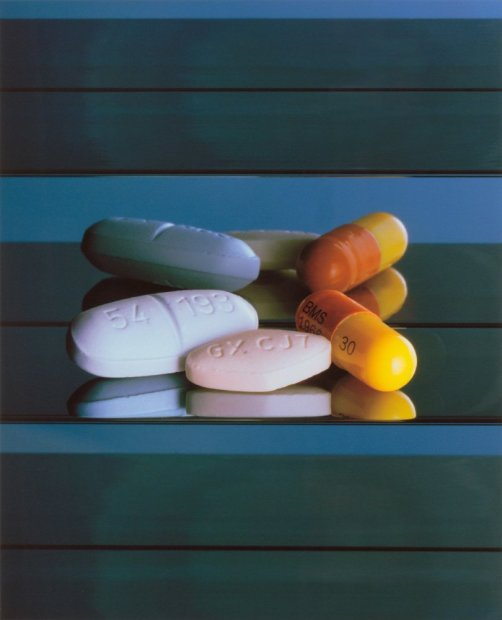 Damien Hirst AIDS / HIV Drugs archival giclee print 20 x 24 inches
