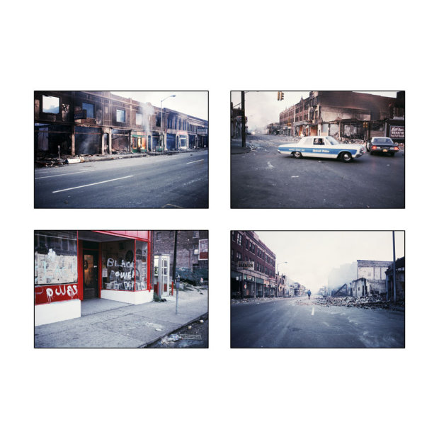 Howard L. Bingham The Detroit Riots chromogenic print 38 x 38 inches