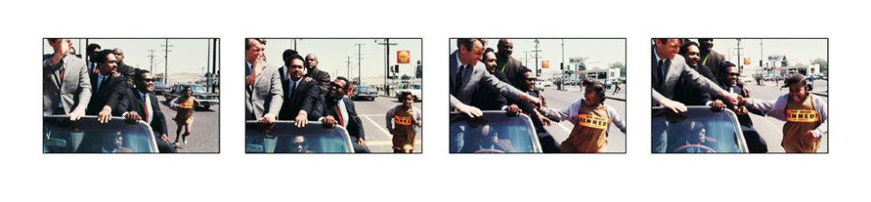 Howard L. Bingham New Image Kennedy chromogenic print 15 x 60 inches