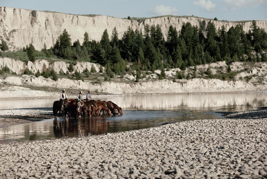 Norm Clasen, River Rest, Polson, MT, 1987