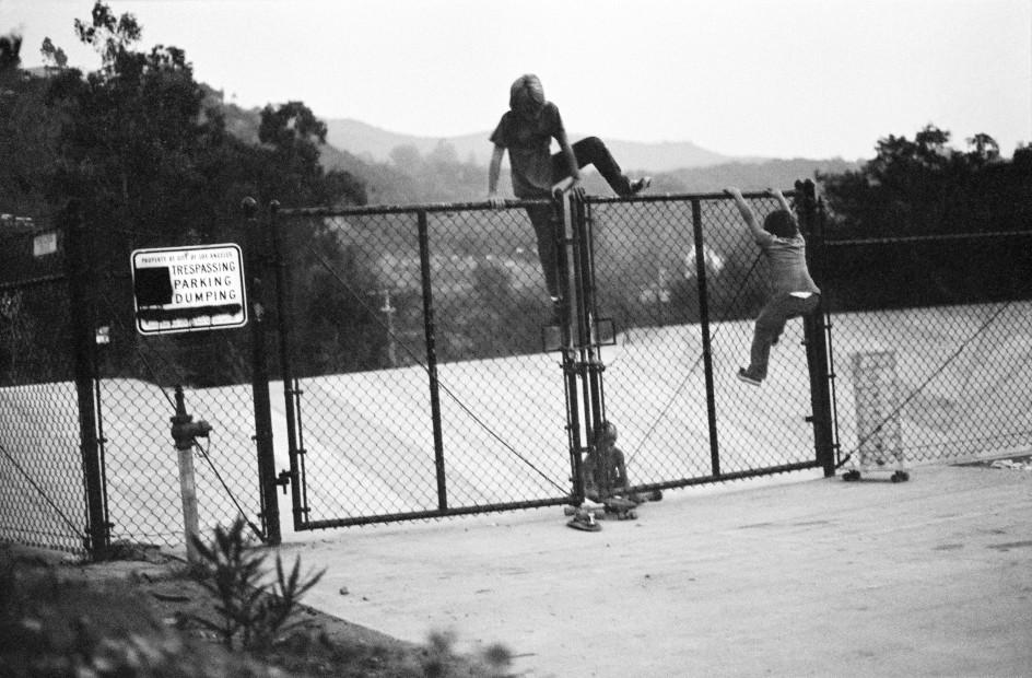 Hugh Holland, Trespassing, Parking, and Dumping, Hollywood Hills, CA, 1975