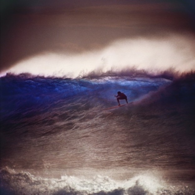 LeRoy Grannis Makaha, Mickey Munoz (No. 71) chromogenic print paper size: 36 x 36 inchesimage size: 30 x 30 inches