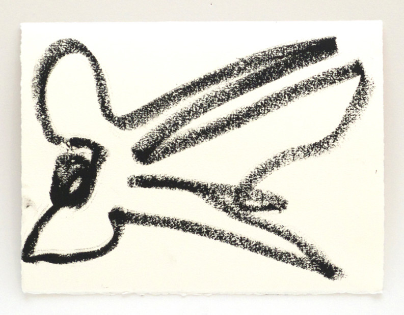 Reanimation performance drawing (Bird Drawing), 2014