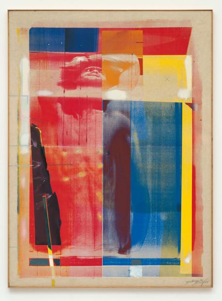 Corpo che oscilla dal braccio / Corpo di Sebastiano, 1975