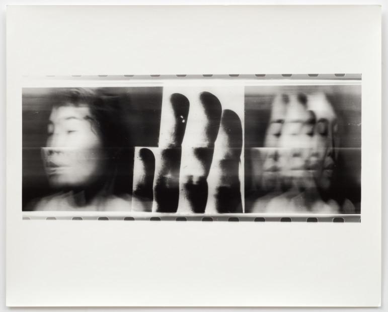 Volto Attraverso Le Proprie Mani - Fotofinish Tokyo, 1996
