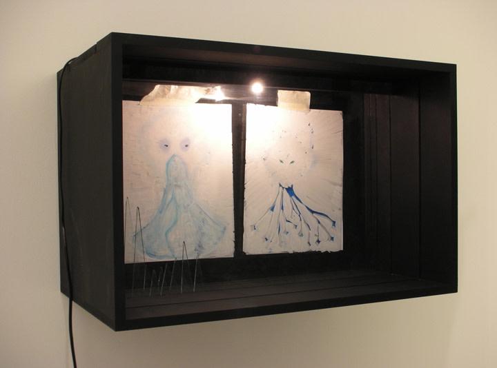 <em>Dog drawings in a box</em>, 2008