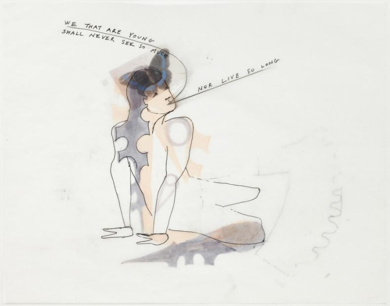 <em>Temper Clay Drawing III</em>, 2011