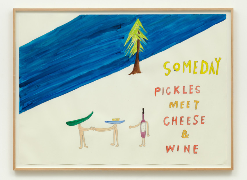 Poster for Cucumber Journey II (Someday pickles meet cheese and wine), 2003