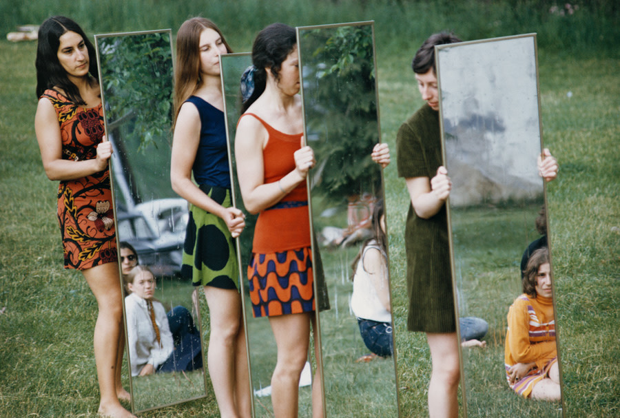 Mirror performance III, 1969