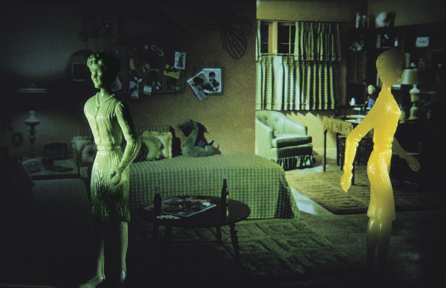 Yellow and Green Teen Room, 1983
