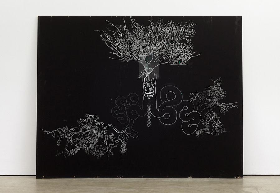 <em>Snake Tree-Man Drawing</em>, 2010