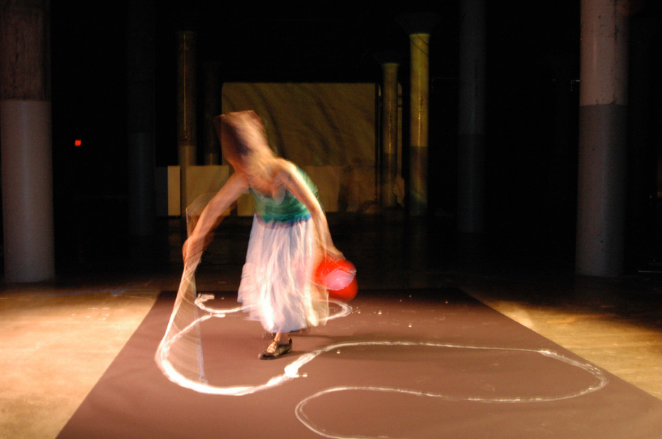 <em>The Shape The Scent The Feel of Things Performance, Dia Beacon</em>, 2006