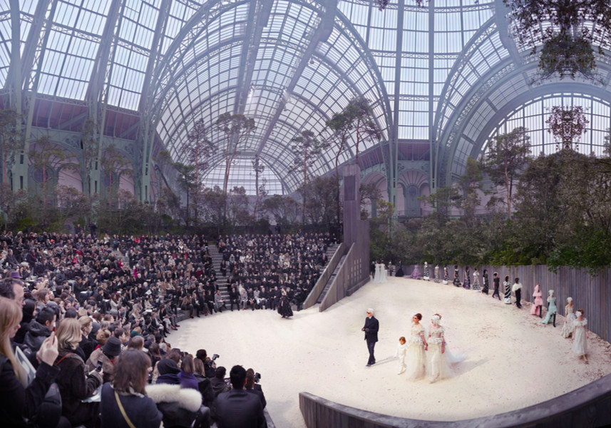 CHANEL, THE FOREST BENEATH THE PALACE, 2013