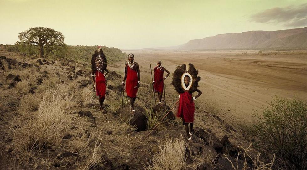 VIII 450 - Ladaru, Lenaitu, Lengaa, Saitoti - Tarangiri, Rift Escarpment - Tanzania, 2010