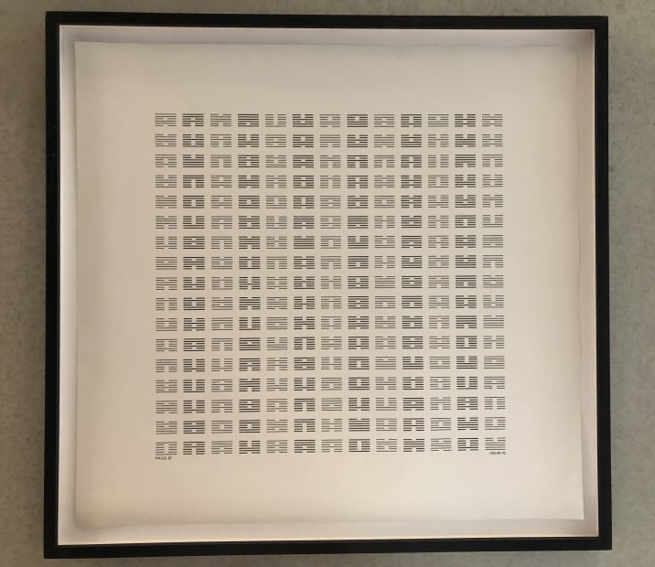 "Programm 67 ""I Ching"", 1970"