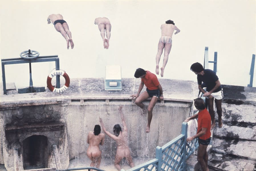 Divers / Rome, 1976
