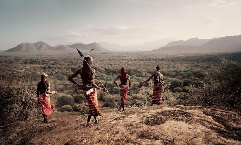 XVII 230 - Nyerere, Loingu, Lewangum, Lepokodu - Kaisut Desert - Kenya, 2010