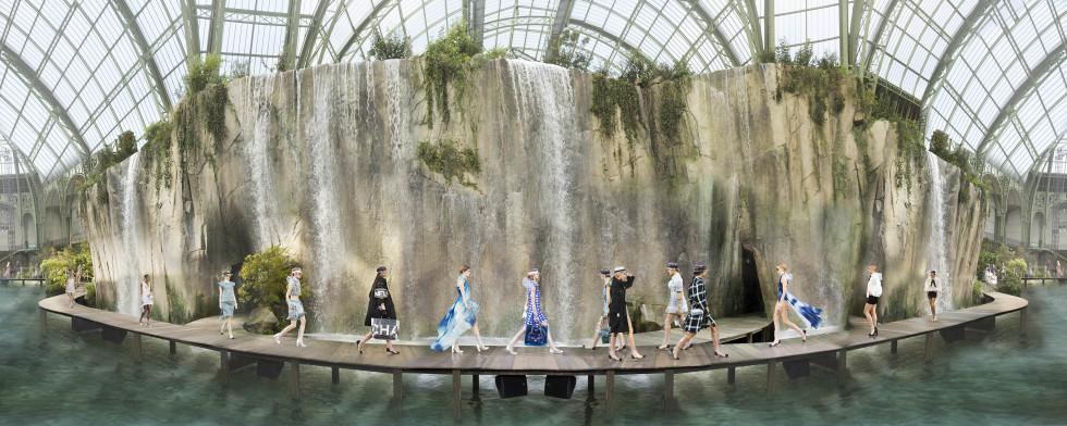Chanel Arcadia, Paris, Grand Palais Oct3, 2017 Collection SS18, 2017