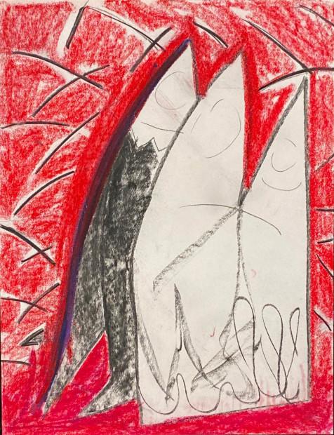 Aurélie Gravas, Red Fishes, 2021