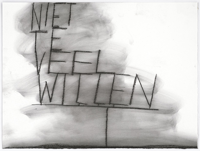 Niet te veel willen (Not wanting too much), 2013-14