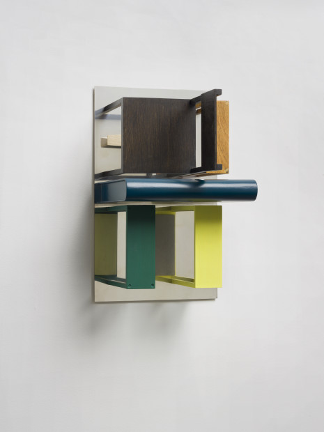 Double Mirrors (With Yellow & Green), 2013