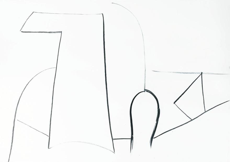 Aurélie Gravas, White Still Life 1, 2020
