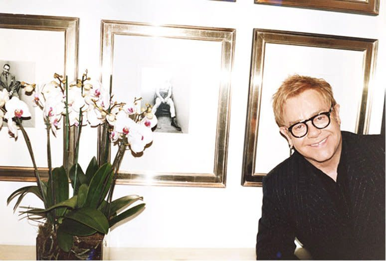 Juergen Teller Elton John, The Boxer, London c-print 20 x 24 inches
