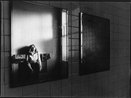 Joseph Szabo Mary in the Mirror gelatin silver print 16 x 20 inches