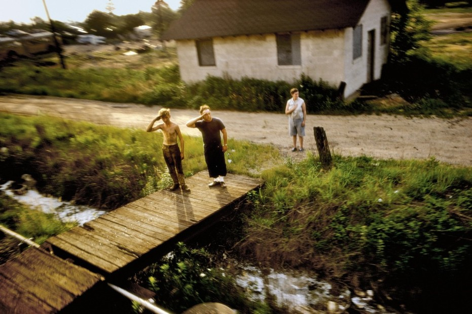 Paul Fusco RFK Funeral Train #1706 chromogenic print paper size: 20 x 24 inchesimage size: 15 x 22 inches