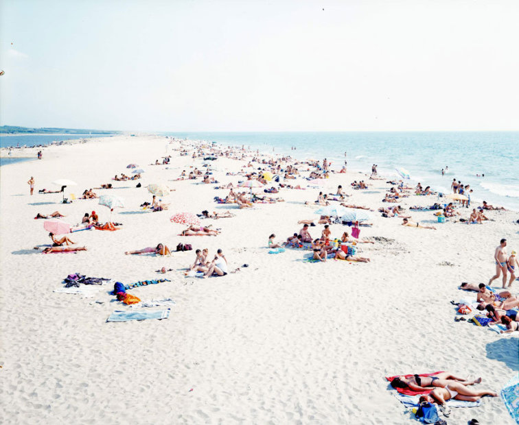 Massimo Vitali Vecchiano 2 (#0103) chromogenic print on Diasec 72 x 86 inches