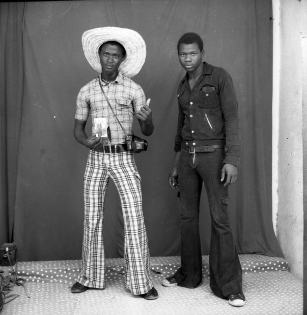 Malick Sidibé Le photographe et son ami gelatin silver print 11 x 14 inches